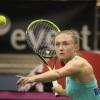 Саснович завершила выступление на теннисном турнире в Будапеште